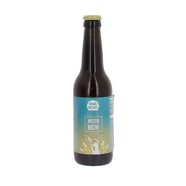 Bière blanche Weizen Biche 5.3% 33cl