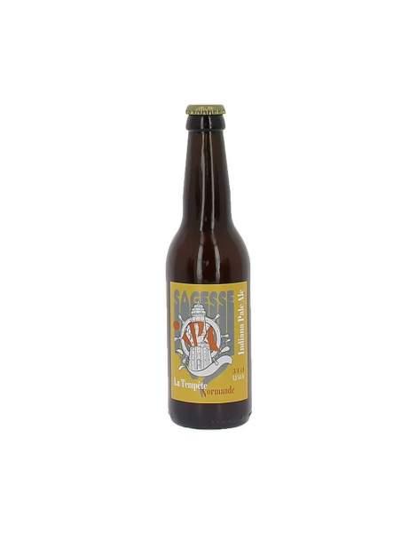 Bière La sagesse IPA la tempête Normande 5.5% 33cl