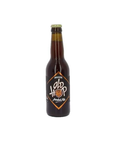 Bière Old Hop ambrée 6.5% 33cl