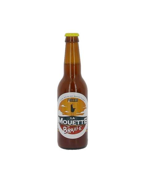 Bière blonde La mouette qui braille 5.5% 33cl