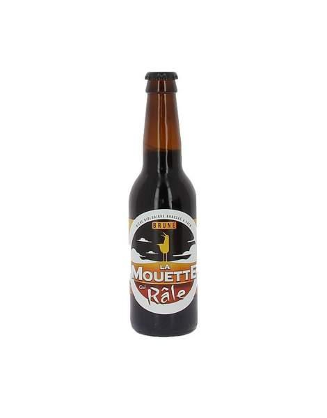 Bière brune La mouette qui râle 4.5% 33cl