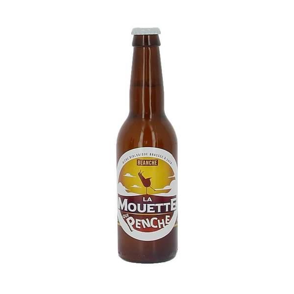 Bière blanche La mouette qui penche 4% 33cl