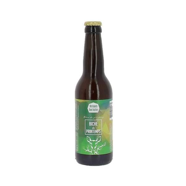 Bière blonde Biche de Printemps 5.5% 33cl