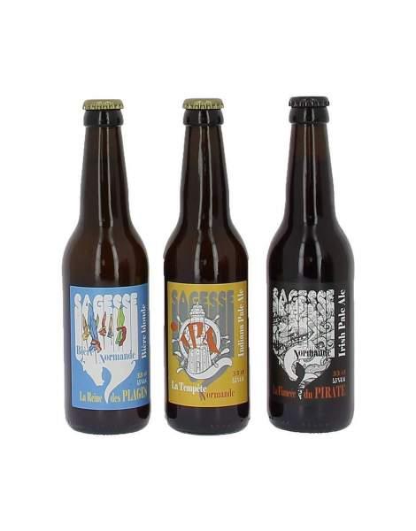 Pack découverte bières Sagesse 3*33cl
