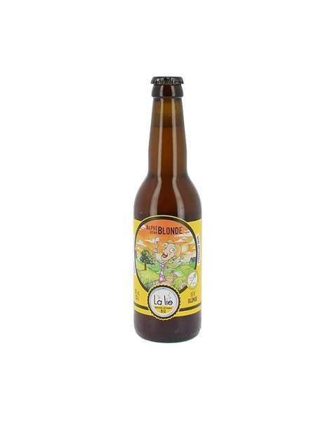 Bière de la Lie Au près de ma blonde 6% 33cl