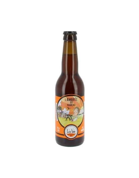 Bière de la Lie L'ambrée du hameau 5.6% 33cl