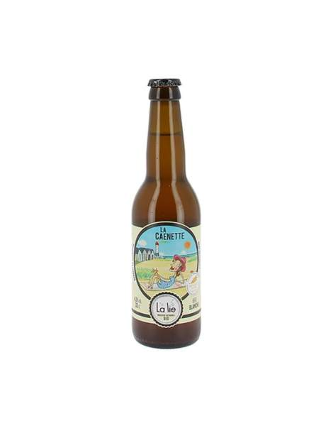 Bière de la Lie blanche la Caennette 4.5% 33cl