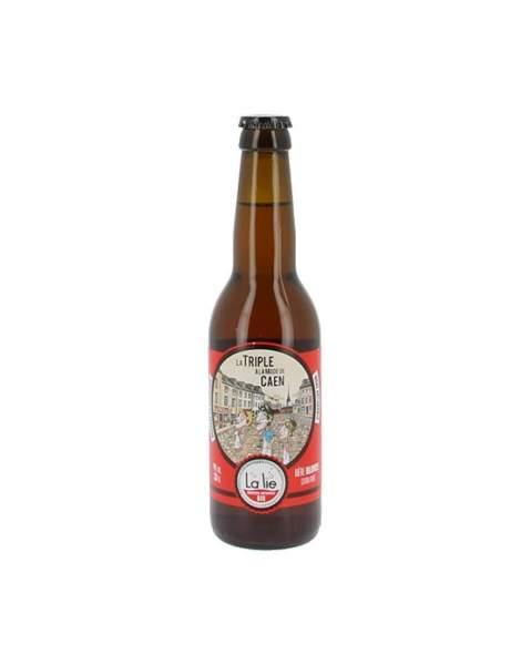 Bière de la Lie la triple à la mode de Caen 9% 33cl