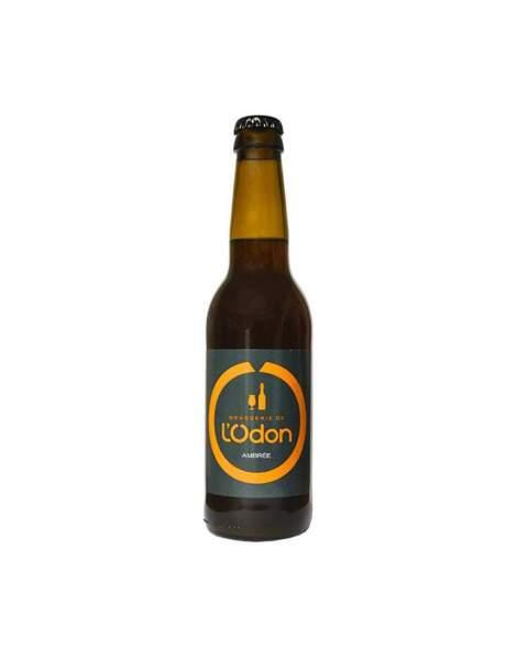 Bière de l'Odon ambrée 6.2% 33cl par 6