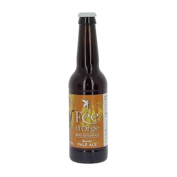 Bière blonde Pale Ale Fée d'Orge 5.5% 33cl