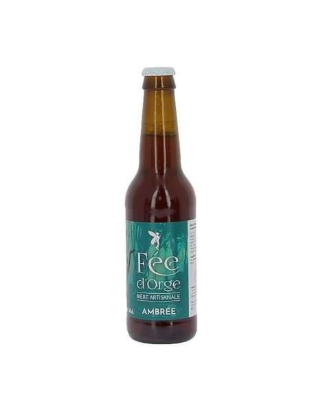 Bière ambrée Fée d'Orge 6.2% 33cl