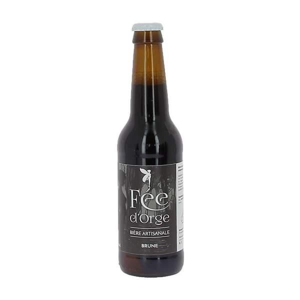 Bière brune Fée d'Orge 6.2% 33cl