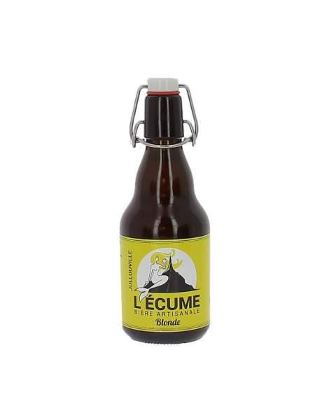 Bière L'écume blonde 6% 33cl