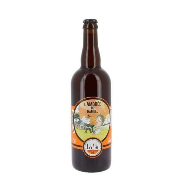 Bière de la Lie L'ambrée du hameau 5.6% 75cl