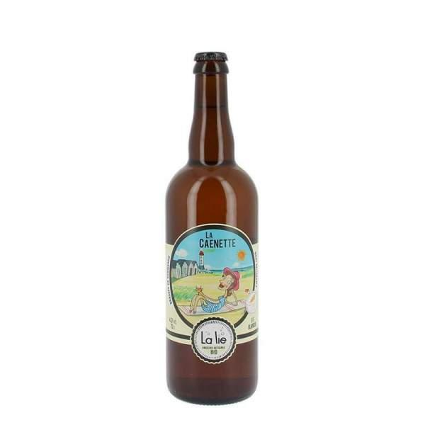 Bière de la Lie blanche la Caennette 4.5% 75cl