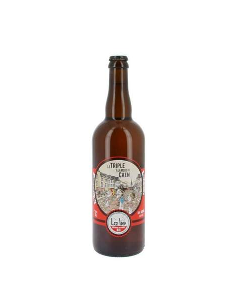 Bière de la Lie la triple à la mode de Caen 9% 75cl