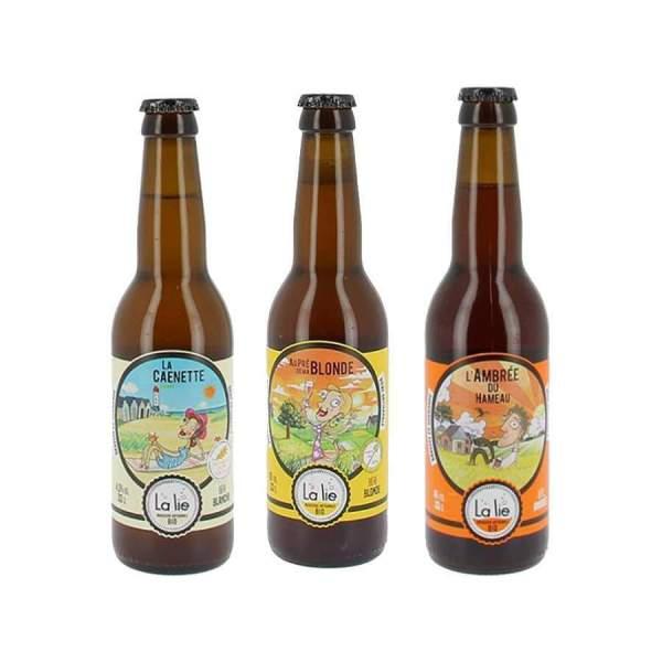 Pack découverte bières La lie