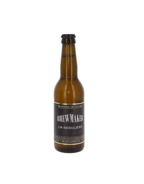 Bière blonde la régulière brewmaker 5.5% 33cl