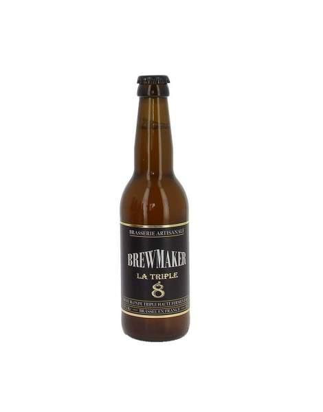 Bière blanche la mondaine 5% 33cl