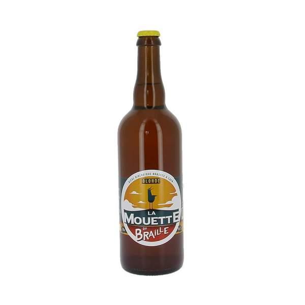 Bière blonde La mouette qui braille 5.5% 75cl