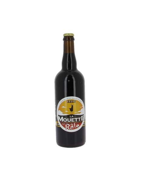 Bière brune La mouette qui râle 4.5% 75cl