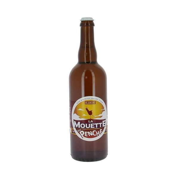 Bière blanche La mouette qui penche 4% 75cl