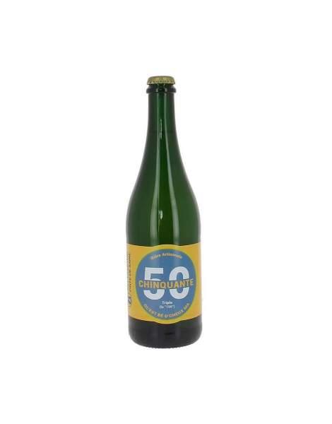 Bière triple La chinquante 8% 75cl