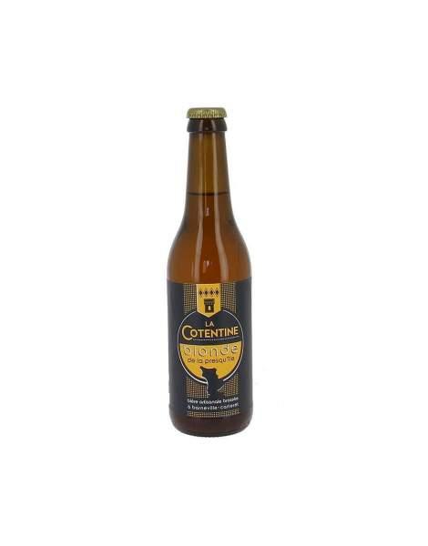 Bière La Cotentine blonde 6.2% 33cl