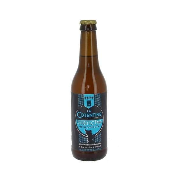 Bière La Cotentine blanche 6.2% 33cl