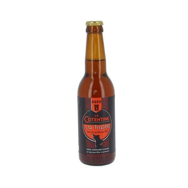 Bière La Cotentine triple 8% 33cl