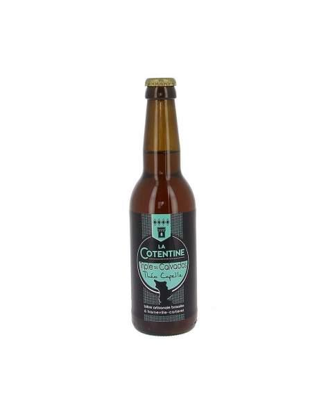 Bière La Cotentine triple au Calvados 10% 33cl