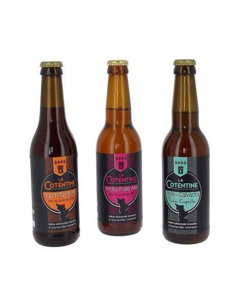 Pack découverte bières Cotentine 3*33cl