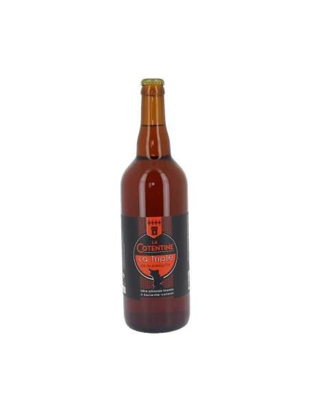 Bière La Cotentine triple 8% 75cl