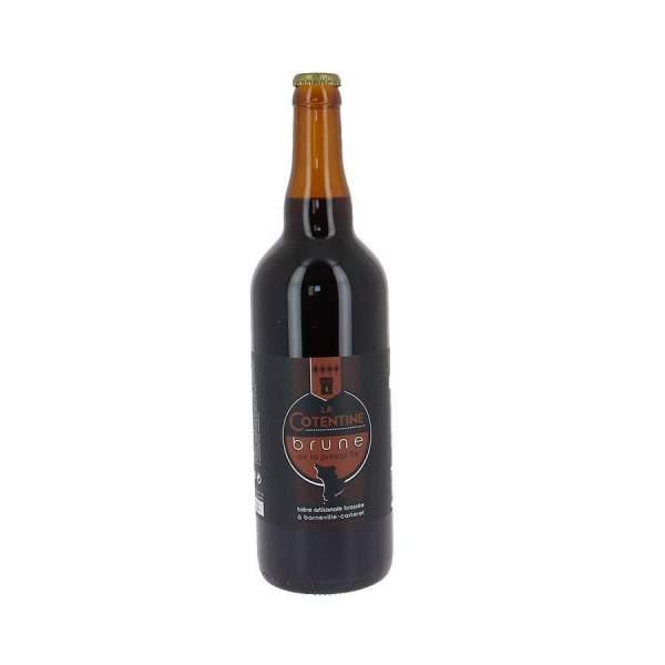 Bière La Cotentine brune 6.2% 75cl