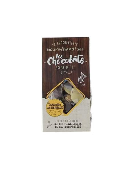 Les chocolats assortis Gourm'handi'ses 100g