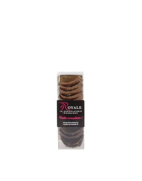 Tuiles 3 chocolats aux éclats de caramels d'Isigny 120gr