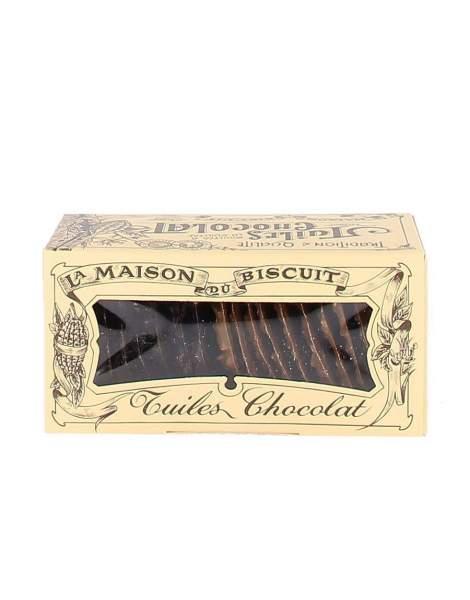 Tuiles chocolat 170g - Maison du biscuit