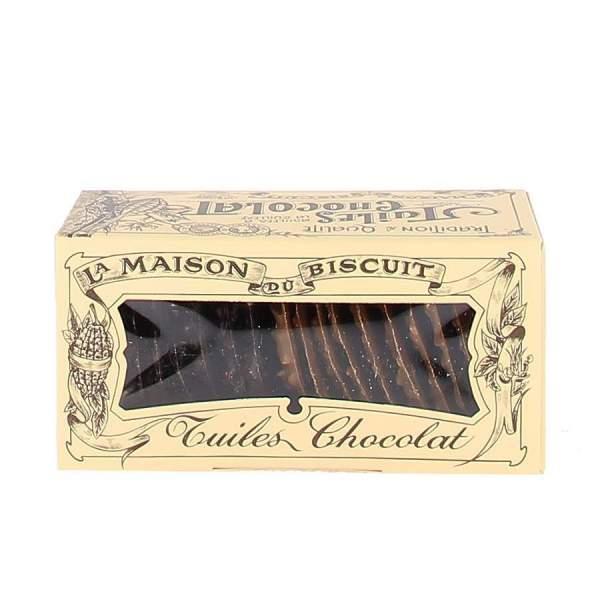 Tuiles chocolat maison du biscuit