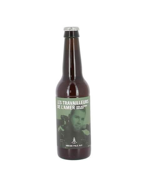 Bière IPA bio Travailleur de l'amer 6% 33cl