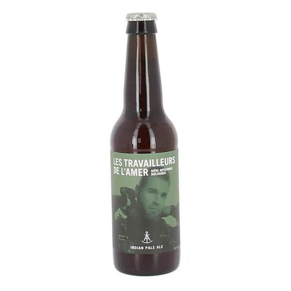Bière Stout bio Travailleur de l'amer 5.5% 33cl