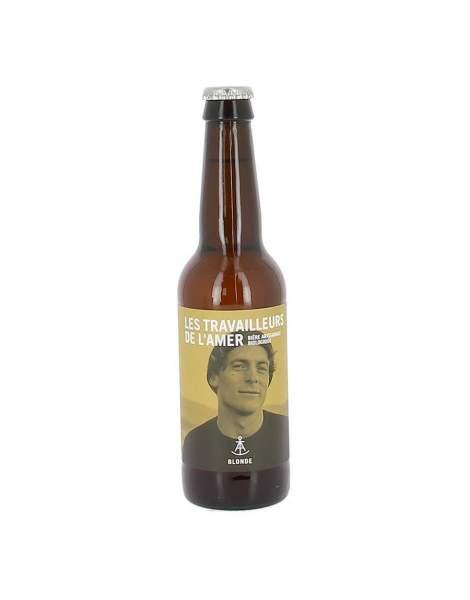 Bière blonde bio Travailleur de l'amer 5% 33cl
