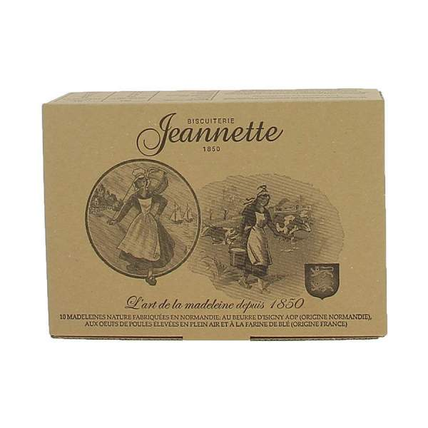 Madeleines nature 250g Jeannette
