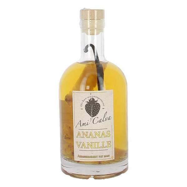 Calvados arrangé Ananas-Vanille Ami'Calva 70cl 30%