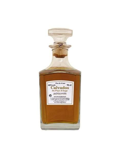 Carafe Calvados 15 ans Dupont 42%vol 70cl