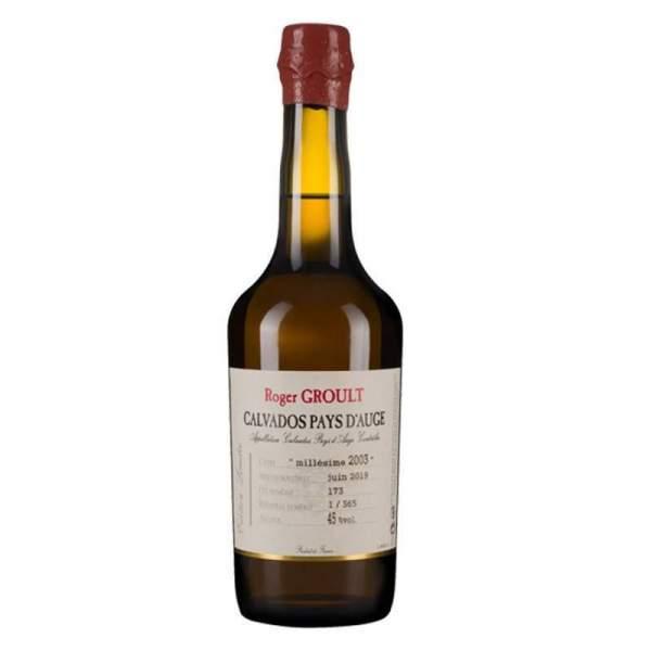 Calvados millésimé 2003 Groult 45% 50cl
