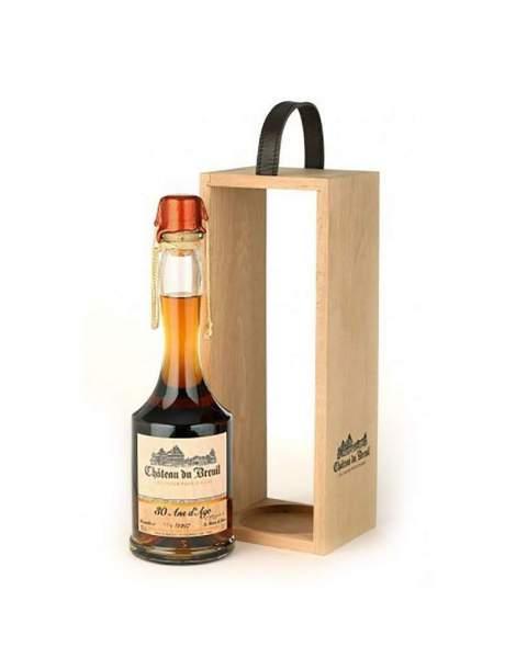 Calvados 30 ans coffret bois Château du Breuil 70 cl 41%