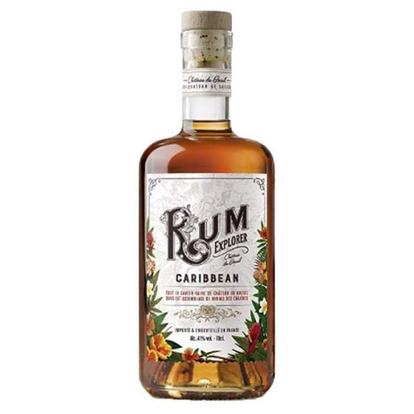 Rhum Caribbean - Rum explorer Breuil 41% 70cl