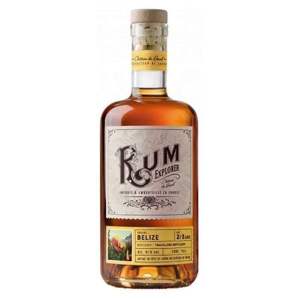 Rhum Belize - Rum explorer Breuil 41% 70cl
