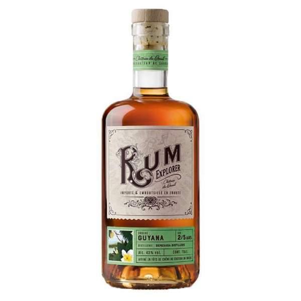 Rhum Guyana - Rum explorer Breuil 41% 70cl