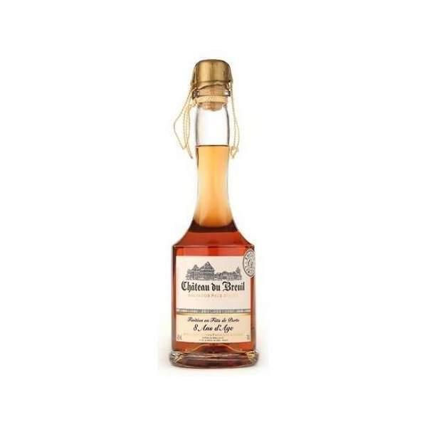 Calvados finition fût de Sherry 7ans Château du Breuil 70 cl 42%